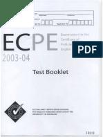 ECPE-FINAL-2003-2004