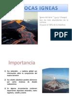 Rocas Igneas Trabajo de Geologia