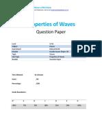 1p - Properties of Waves - Qp - Edexcel - Igcse - Physics (6 Files Merged)