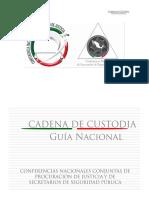 Guia Nacional de Cadena de c