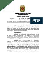 Resolucion Validando Sancion Com Cusco
