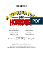 A Pequena Loja Dos Horrores - LIBRETTO Portugal