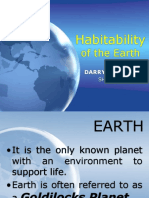 The Habitability of the Earth