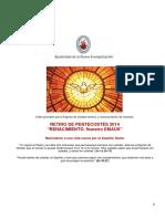 05 2014 Retiro de Pentecostés 2014 Documento Completo Para Equipo Coordinador