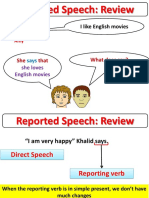 Reported Speech (Review) 2