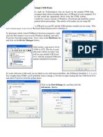 Configuring Virtual Com Ports