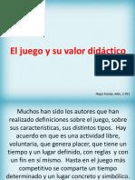 eljuegocomoestrategiadidcticaenelprocesodeeseanzayaprendizaje-120719090159-phpapp02