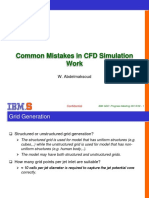 Common Mistakes in CFD Work_Waleed
