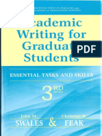 Academic Writing for Graduate Students (3rd Ed.)