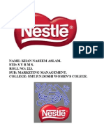 Nestle Project