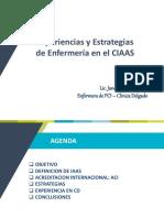 Experiencias y Estrategias en Las IASS