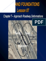 Lesson 07-Chapter 7 Approach Roadway Deformations