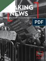 PEN America Faking News Report 10.12