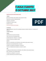 Plan de Aula Reciente Cuarto Periodo Octubre 2017 Amp, Osi, Man y Jo.