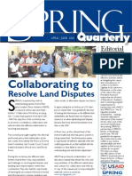 SPRING Quarterly, Volume V (April-June 2010)