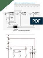 Panel Kontrol Motor 3 Fasa Terhubung Star Delta Otomatis