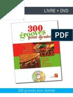300 Grooves Djembe