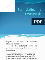 Ch6 Formulating the Hypothesis-1