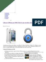 Liberar El iPhone Por IMEI (Todo Lo Que Necesitas Saber