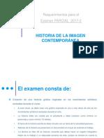 Examen Parcial 2017-2 Historia de La Imagen