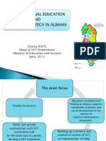 1 - Dorina Rapti New VET Strategy in Albania