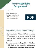 Salud Ocupacional - DIAPOSITIVAS