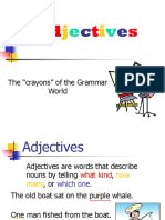 Adjectives #2