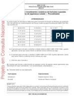 NBR13755 Projeto de Revisão