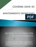 NORMAS COVENIN 3049-93.pptx