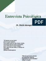 Introducción a entrevista psicológica UNIFÉ