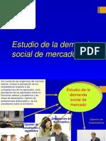 7. Estudio de La Demanda Social de Mercado