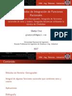 Metodo de Ostrogradski Func Rac Seno y Coseno UNI 17