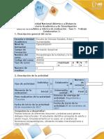 Guía de Actividades y Rúbrica de Evaluación - Fase 5 - Elaborar Trabajo Colaborativo 2