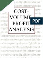 Cost Volume Profit Analysis Paper Presentation