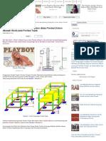 Cara Menghitung Panjang Besi Kolom Diatas Pondasi (Kolom Dibawah Sloof) Pada Pondasi Tapak _ Proyek Sipil