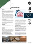 3d-Printed Habitat Challenge Fact Sheet