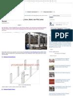 Cara Menghitung Volume Beton Kolom, Balok, Dan Plat Lantai Rumah _ Proyek Sipil