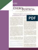 Boletin 66 Septiembre 2014 Género y Justicia