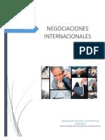 Informe de Negociaciones