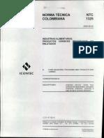 9 - NTC 1325 Productos Carnicos Procesados No Enlatados