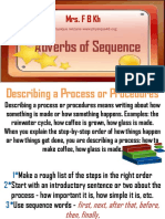 4MS File1 Adverbs of Sequence Ppt