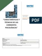 Características y Técnicas de Las Corrientes Psicológicas