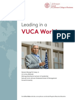 VUCA Leadership - February 2017