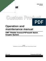Operacion y Mantenimiento Manual