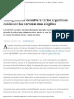Radiografía de Los Universitarios Argentinos_ Cuáles Son Las Carreras Más Elegidas - 27.06