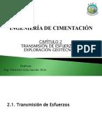 Capítulo 2 - Transmisión de Esfuerzos y Exploración Geotécnica.pdf