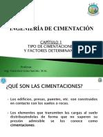 Capítulo 1 - Tipos de cimentaciones y Factores determinantes.pdf