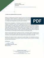 Carta de la Rectora Interina a los comerciantes de Mayagüez