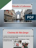 Visite d'Étude à Lisbonne Sergio e Enzo