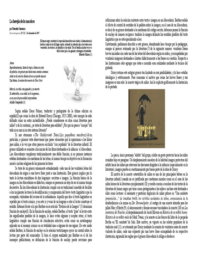 Carranza La Herejia De Lo Macabroimprimirpdf